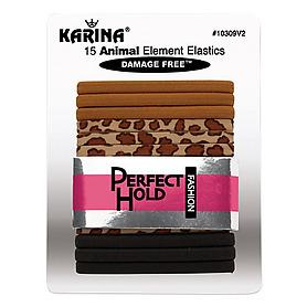 15 Piece Animal Element Elastics