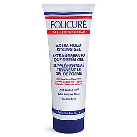 Folicure Extra Hold Styling Gel 8 oz.