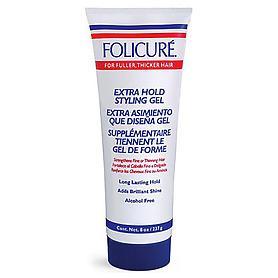 Folicure Extra Hold Styling Gel 8 oz.