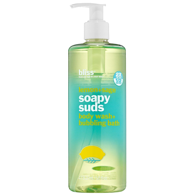 Lemon+Sage Soapy Suds Body Wash + Bubbling Bath