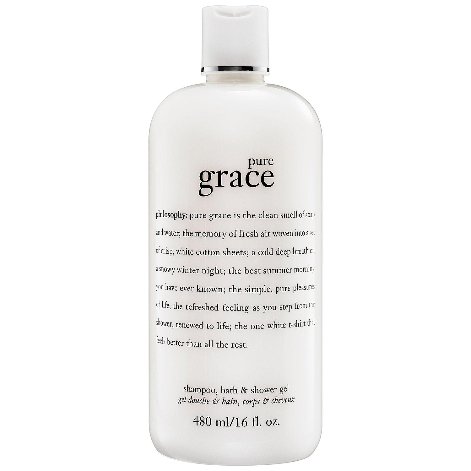 Pure Grace Foaming Bath and Shower Gel
