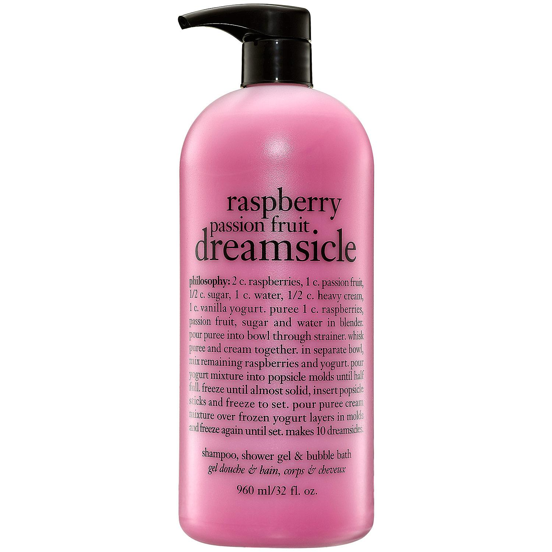 Raspberry Passionfruit Dreamsicle Shampoo, Shower Gel & Bubble Bath
