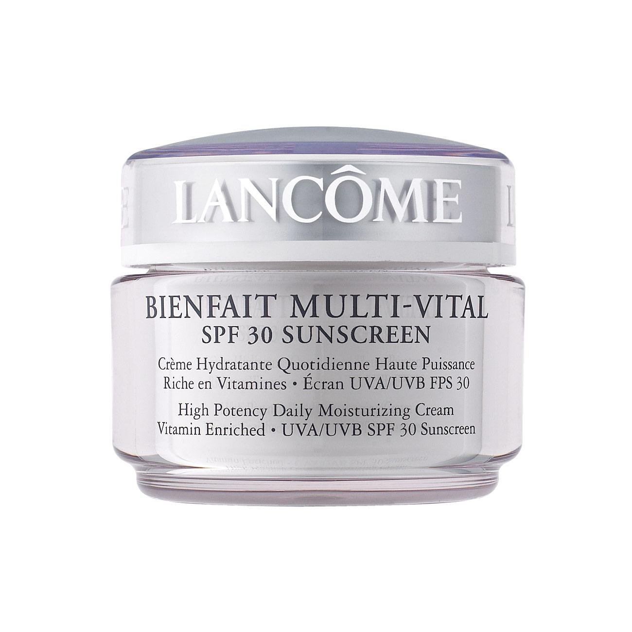 BIENFAIT MULTI-VITAL - SPF 30 CREAM - High Potency Vitamin Enriched Daily Moisturizing Cream