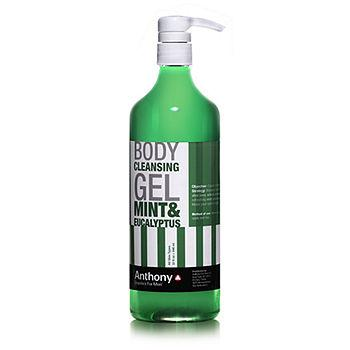 Body Cleansing Gel, Mint & Eucalyptus 32 fl oz