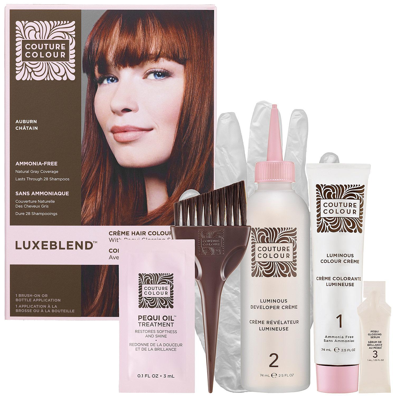 Luxeblend™ Crème Hair Colour With Pequi Glossing Serum — Auburn