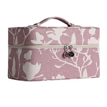 train case, magnolia shimmer pink 1 ea