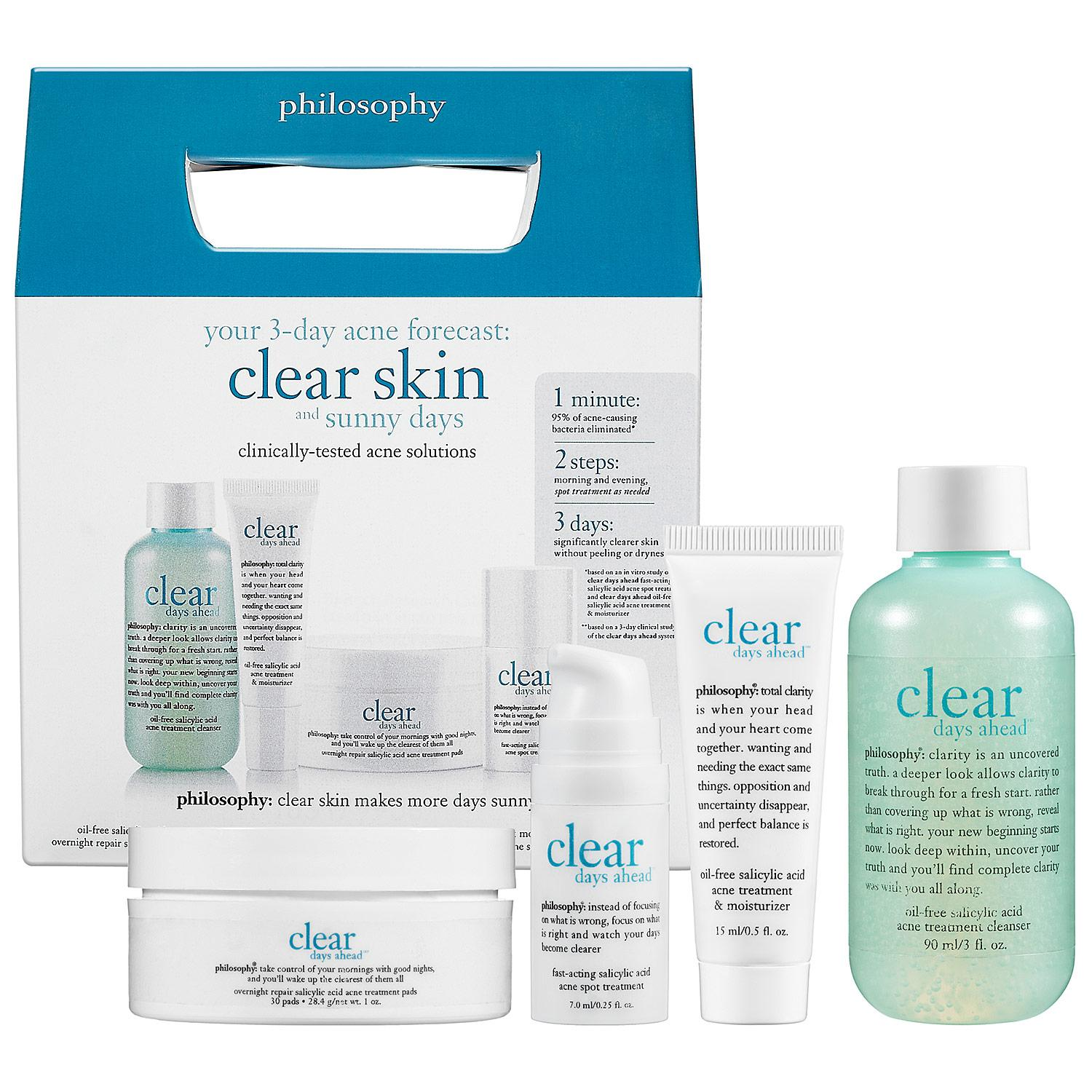 Clear Days Ahead™ 30-Day Acne Trial Kit
