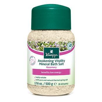 Rosemary Awakening Vitality Mineral Bath Salts17.6 oz