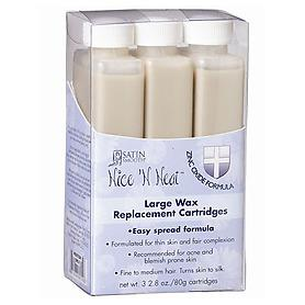 Nice 'N Neat Large Zinc Oxide Wax Replacement Cartridges