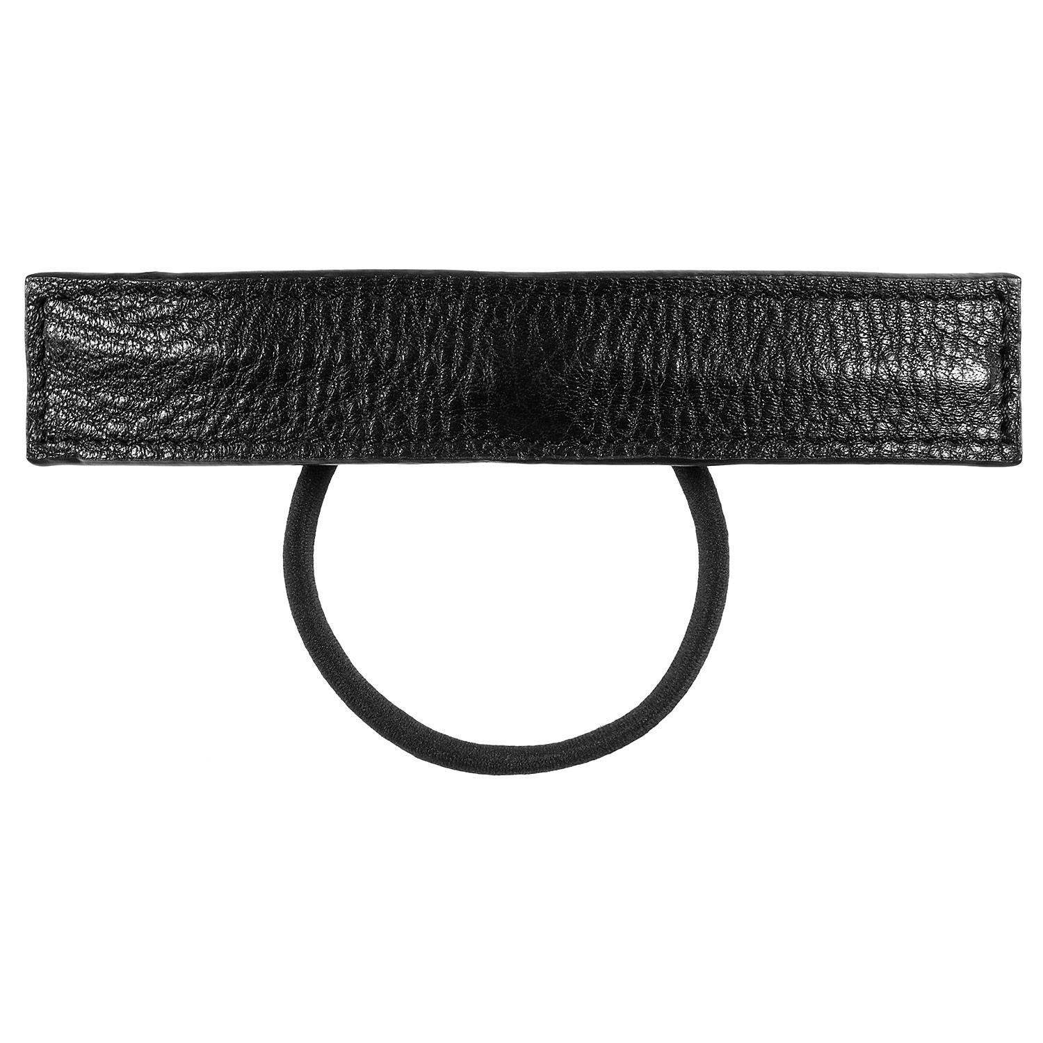 Leather Wrap Ponytail Holder