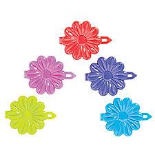 Assorted Childrens Daisy Barrettes