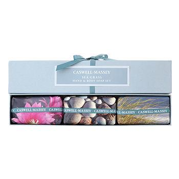 Sea Grass Box of Three Soaps Gift Set 1 ea