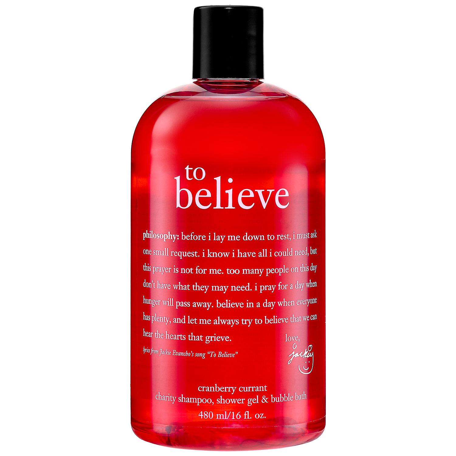 WhyHunger To Believe Charity Shampoo, Shower Gel & Bubble Bath
